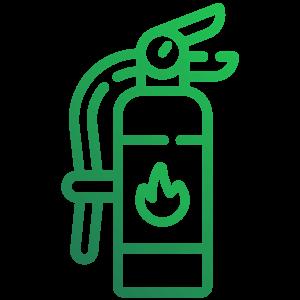 Ikona požiarna ochrana